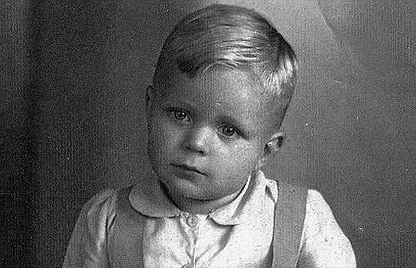 Folker Heinecke w dzieciństwie