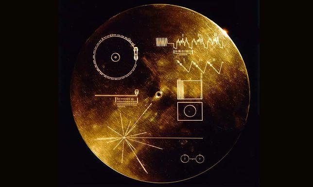 Nagranie zostało wysłane w kosmos ponad 40 lat temu