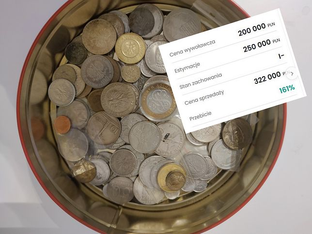 Warto przejrzeć swoje kolekcje monet. Można dobrze zarobić