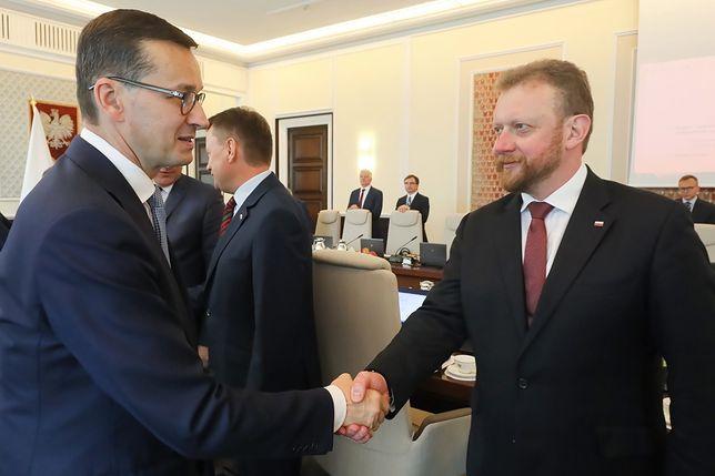 Dwa spotkania Morawieckiego. Ministrowie, później opozycja