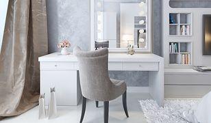 Biała toaletka – jaką wybrać i jak dopasować ją do aranżacji sypialni?