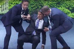 Szef BMW zemdlał podczas prezentacji