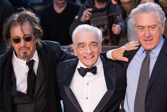 Od lewej Al Pacino, Martin Scorsese i Robert De Niro