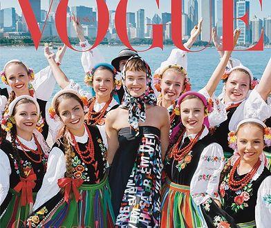 Ta okładka Vogue'a mogła być pierwsza. Jest radość i kolor