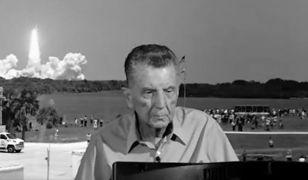 Zmarł dziennikarz Jay Barbree. O lotach w kosmos z NASA wiedział wszystko