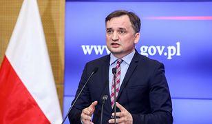 Na zdjęciu Zbigniew Ziobro