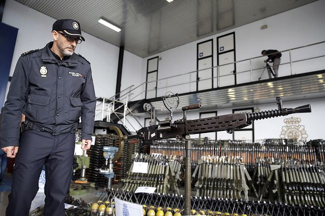 Akcja Europolu i hiszpańskiej policji w Bilbao
