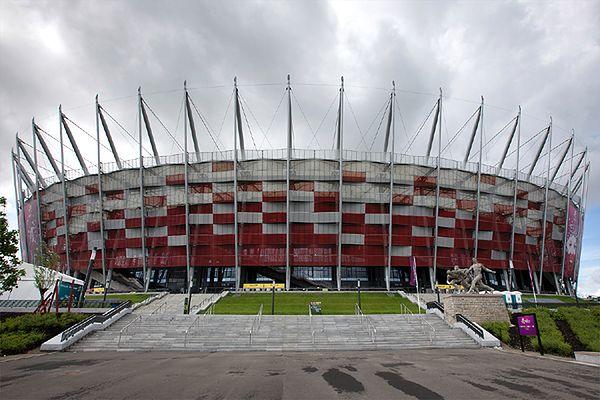 Problemy z ewakuacją Stadionu Narodowego