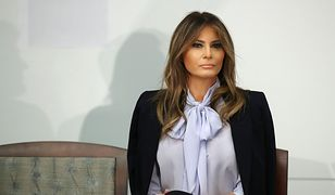 Melania Trump ma być zniewolona przez męża