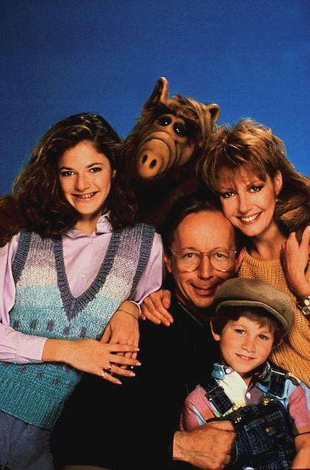 "Andrea Elson (kadr z serialu ""Alf"")"