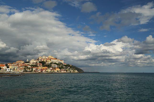 Widok na Porto Maurizio, Imperia