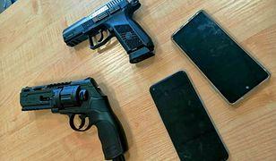 Gliwice. Sterroryzowali bronią nastolatków, ukradli telefony i pieniądze