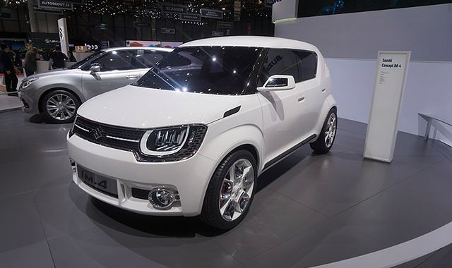 """Suzuki iM-4: """"maluch"""" z napędem 4x4"""