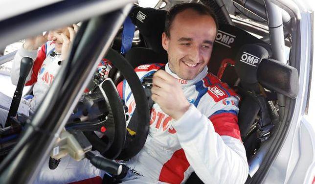 Rajd Francji: Kubica ósmy na odcinku testowym