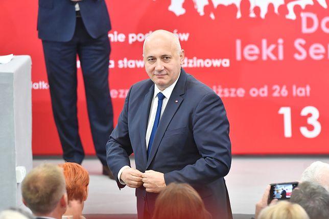 Marian Banaś wrócił do pracy w NIK. Joachim Brudziński: nie jest członkiem PiS