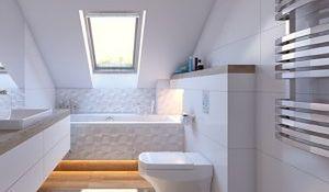Łazienka na poddaszu - klimatyczna czy problematyczna?