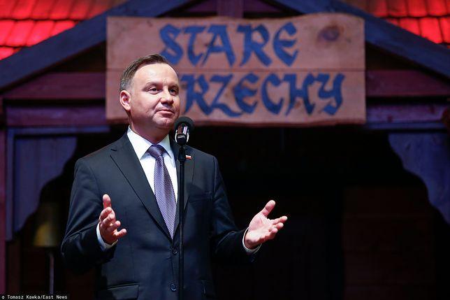 Andrzej Duda krytycznie o historycznej ofensywie Władimira Putina.