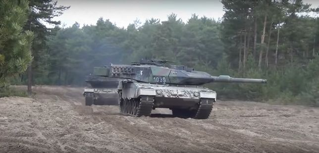 Podpisano umowę na budowę garaży dla 128 czołgów Leopard 2A5