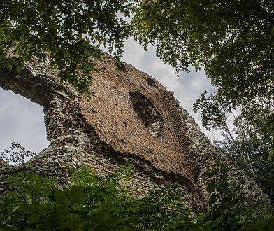 Ruiny Zamku Esterki. Miasto chce przywrócić im atrakcyjność