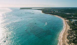 Wybrzeże Dominikany to kilometry piaszczystych plaż