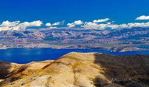Widok ze szczytu Pantokrator na wyspie Korfu