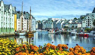 Norwegia - Alesund i Trondheim