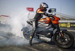 Harley-Davidson LiveWire ustanowił rekord dla motocykli elektrycznych na 1/4 mili