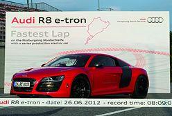 Audi R8 e-tron bije rekord świata