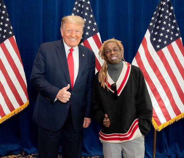 Lil Wayne ułaskawiony przez Donalda Trumpa!