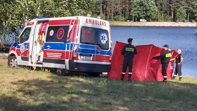 Tragedia w Biłgoraju. W zalewie Bojary utonął 17-latek