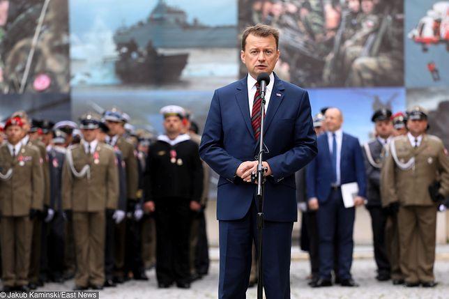 """Mariusz Błaszczak ostro o Grzegorzu Schetynie. """"Uwłacza godności powstańców"""""""