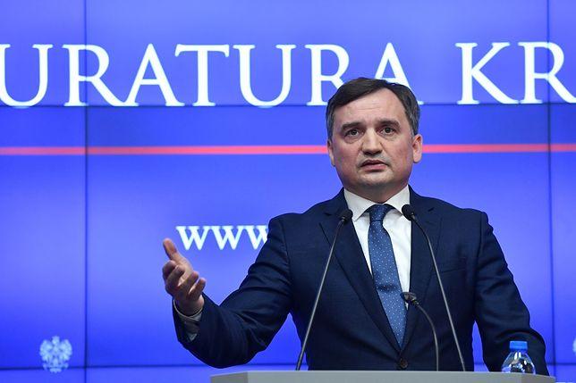 Minister sprawiedliwości - Zbigniew Ziobro