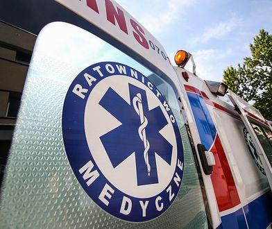 Wypadek busa w Komorowicach na przedmieściach Wrocławia. Ranni pacjenci