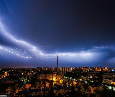 Pogoda. IMGW wydał ostrzeżenia przed burzami