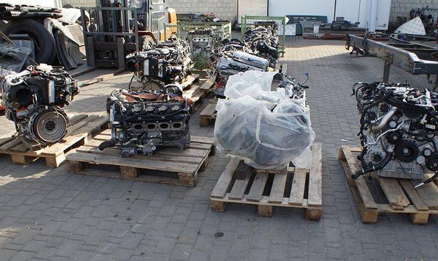 Polscy złodzieje ukradli silniki AMG