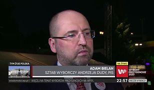 """Wyniki wyborów prezydenckich 2020. Adam Bielan: """"do tej pory w wynikach exit poll byliśmy niedoszacowani"""""""