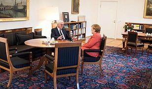 Trudne rozmowy Merkel i Steinmeiera
