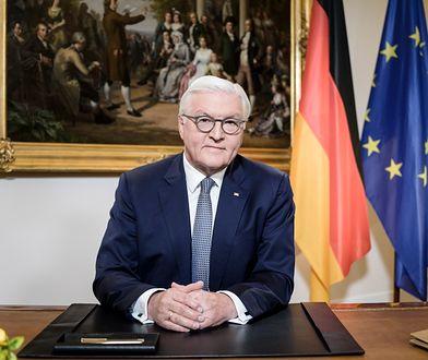 Koronawirus. Niemcy. Prezydent Frank-Walter Steinmeier wygłosił orędzie do narodu.
