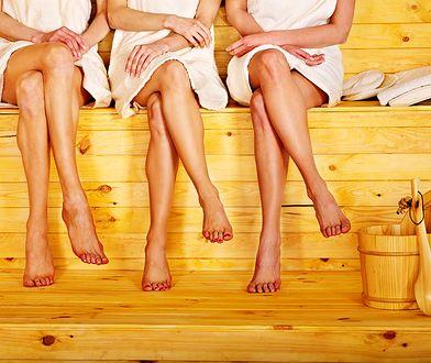 Korzystanie z sauny pozwala pozbyć się szkodliwych toksyn z organizmu
