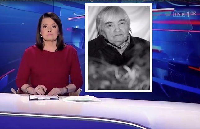 """""""Wiadomości"""" w swoim stylu pożegnały Marię Janion"""