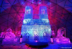 Imponująca atrakcja. Na Słowacji powstała lodowa katedra Notre-Dame