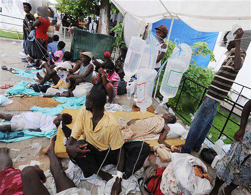 ONZ: epidemia cholery na Haiti będzie się rozszerzać