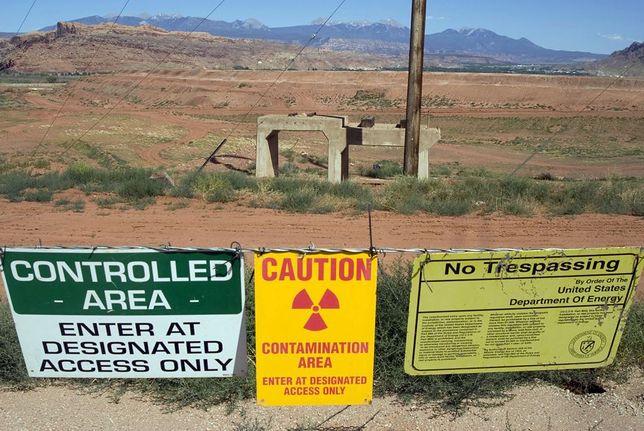 Amerykanie prowadzili wydobycie uranu w przeszłości