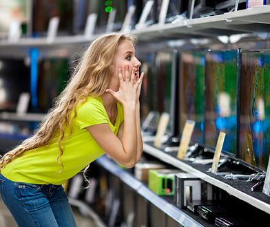 Ludzie przestali kupować telewizory - będą mega promocje