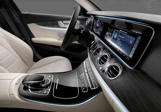 Nowy Mercedes Klasy E - wnętrze