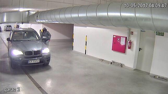 Kraków: niezwykle zuchwała kradzież luksusowego BMW X5