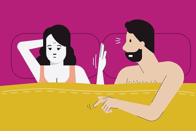 Aż 1/3  Polek zmusza się do współżycia ze swoimi partnerami