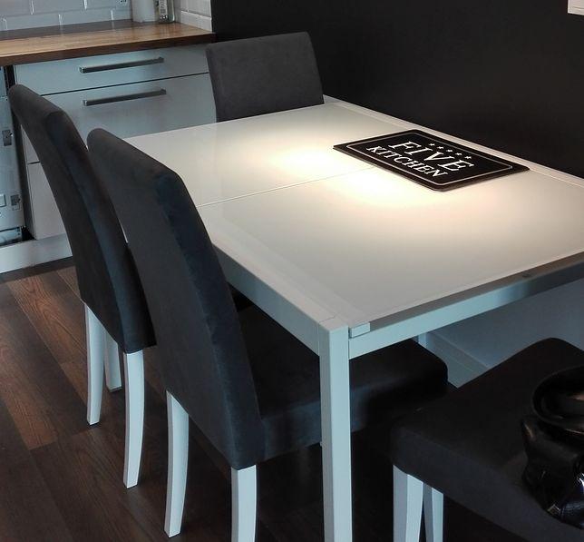 Stoły GLIVARP są w wielu polskich domach. IKEA apeluje, żeby zwrócić produkt z matowym szklanym blatem