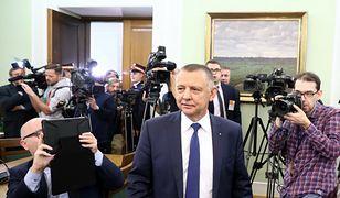 Prezes NIK Marian Banaś w Sejmie (zdj. arch.)