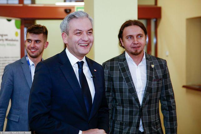 Śląsk. Europoseł zaskoczył w Brukseli. Łukasz Kohut (po prawej) jest politykiem Wiosny Roberta Biedronia